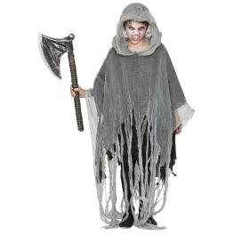 Disfraz de Poncho zombie infantil