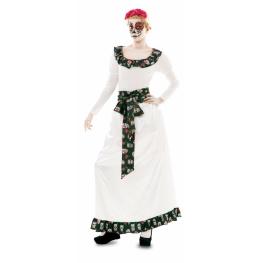 Disfraz de Vestido largo Catrina Talla ML para mujer