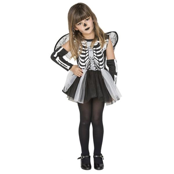 Disfraz de Esqueleto 3 a 4 años para niña