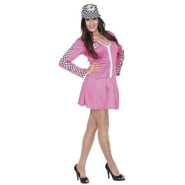 Disfraz de Chica pit-line Talla ML para mujer