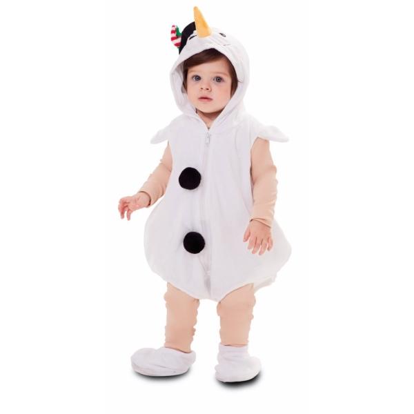 Disfraz de Muñeco nieve para Bebé
