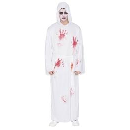 Disfraz de Túnica Blanca con sangre Talla ML para hombre