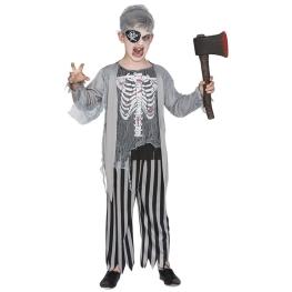 Disfraz de Pirata zombi para Niño