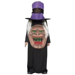 Disfraz de Monstruo con sombrero Infantil