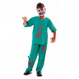 Disfraz de Médico zombi para niño