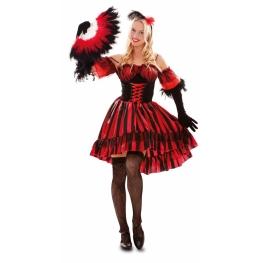 Disfraz de Bailarina del Oeste Talla ML para mujer