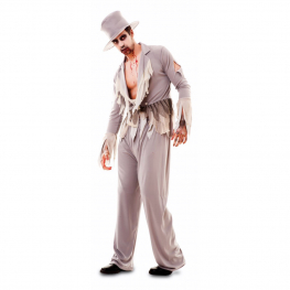 Disfraz de Novio ZombiTalla ML para hombre