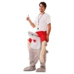 Disfraz de Up! Tiburón  Talla ML para Adulto