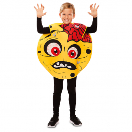 Disfraz de Emoticono Zombie para infantil