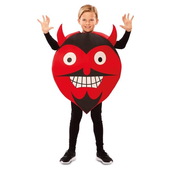 Disfraz de Emoticono Diablo 7 a 9 años para infantil