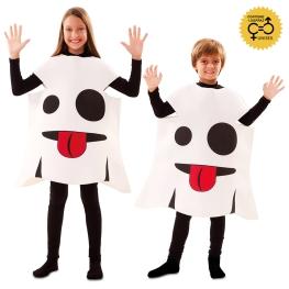Disfraz de Emoticono Fantasma Infantil