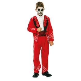 Disfraz de Catrín rojo para niño