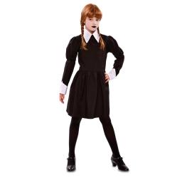 Disfraz de niña Siniestra para niña