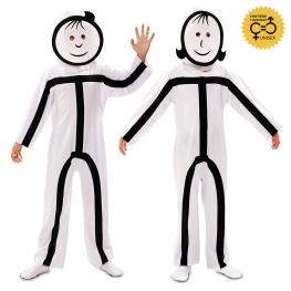 Disfraz de Stickman Infantil