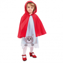 Disfraz de Caperucita para bebé y niña
