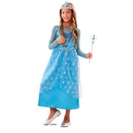Disfraz de Princesa invierno para niña