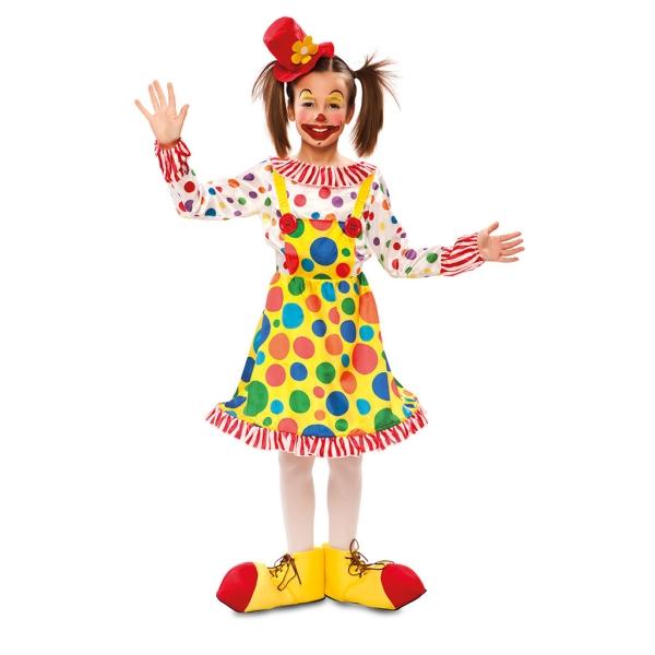 Disfraz de Payasita 3 a 4 años para niña