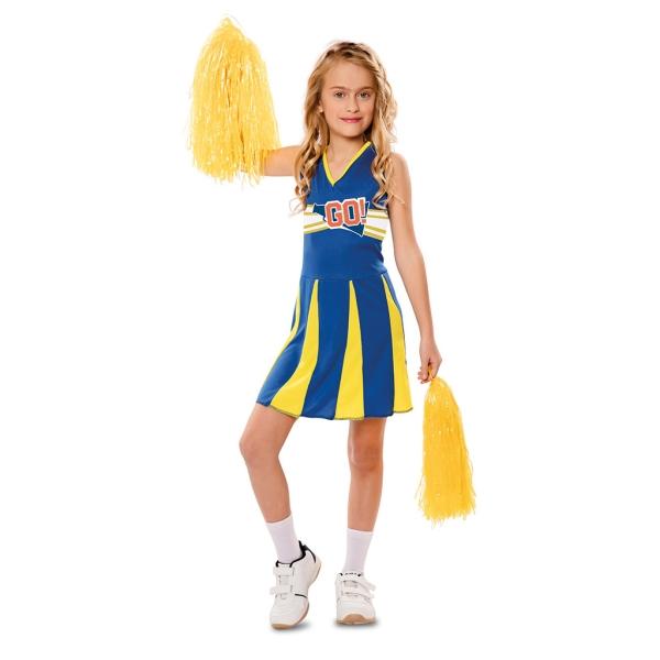 Disfraz de Animadora 5 a 6 años para niña