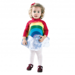 Disfraz de Arcoiris 3 a 4 años para infantil