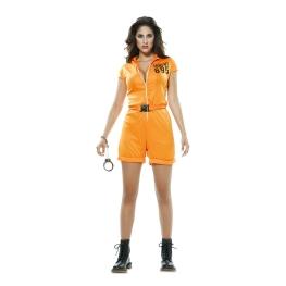 Disfraz de Prisionera Naranja para Mujer