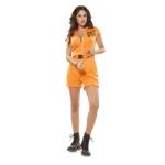 Disfraz de Prisionera Naranja para Mujer Talla ML