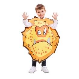 Disfraz de Bacteria Naranja para infantil
