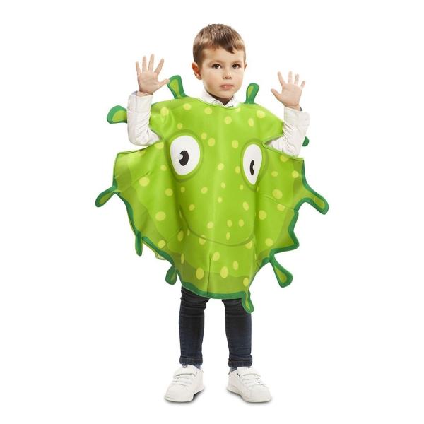 Disfraz de Bacteria Verde 3 a 4 años para infantil