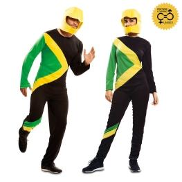 Disfraz de Bobsleigh Jamaicano para adulto