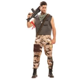 Disfraz de Soldado de Combate para Adulto