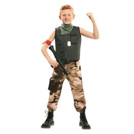 Disfraz de Soldado de Combate Chico