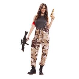 Disfraz de Soldado de Combate Mujer