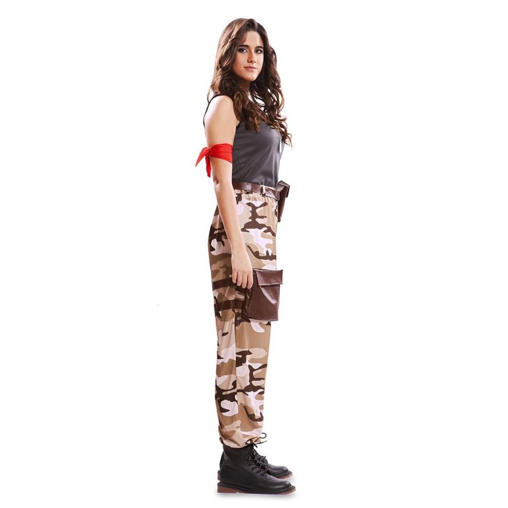 Soldado De Combate Mujer T Ml