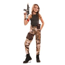Disfraz de Soldado de Combate Chica