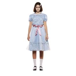 Disfraz de niña Escalofriante para mujer