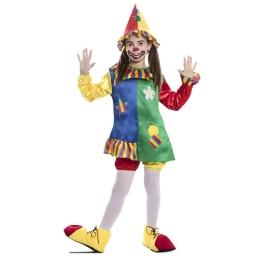 Disfraz de Payasita Multicolor