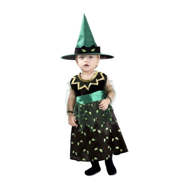 Disfraz de Bruja Ojos De Gato 3 a 4 años para niña