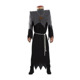 Disfraz de Monje decapitado para hombre