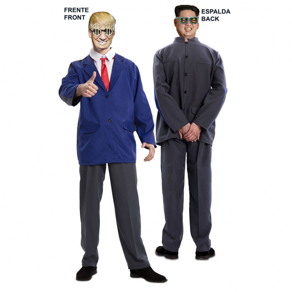 Disfraz de Double fun! presidentes para Adultos Talla ML