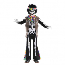 Disfraz de Esqueleto Hippie Infantil