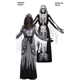 Disfraz de Double Fun! Muerte- Sirena Esqueleto