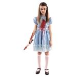 Disfraz de Niña Escalofriante 7 a 9 años para niña