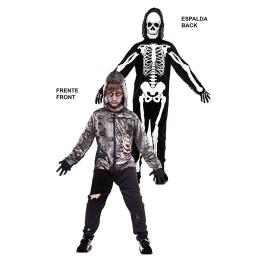 Disfraz de Double Fun! Zombie-Esqueleto