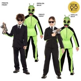 Disfraz de Double Fun! Traje Negro-Alien