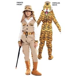 Disfraz de Double Fun! Cazador-Tigre