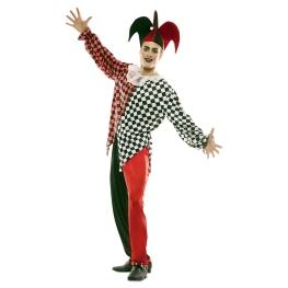 Disfraz de Arlequin Rojo Hombre para Hombre