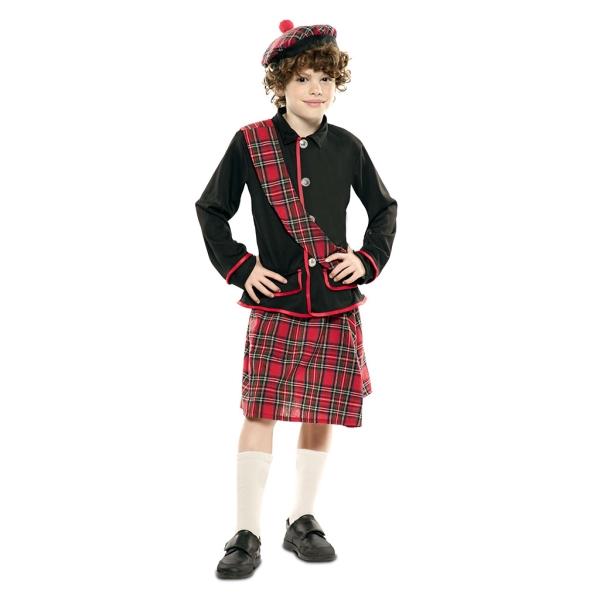 Disfraz de  Escoces Niño T-0