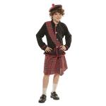 Disfraz de Escoces 3 a 4 años para niño