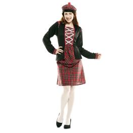 Disfraz de Escocesa Mujer