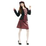 Disfraz de Escocesa Talla ML para mujer