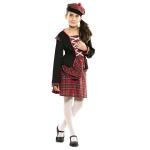 Disfraz de  Escocesa Niña T-0